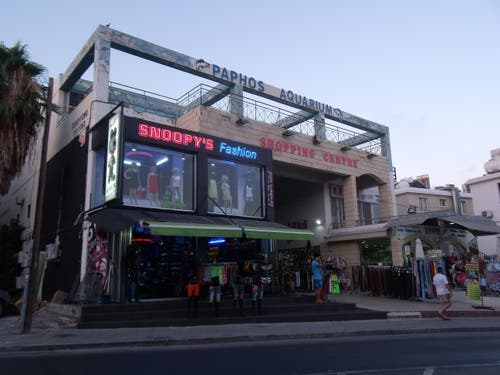 Aquarium Shopping Center de Paphos