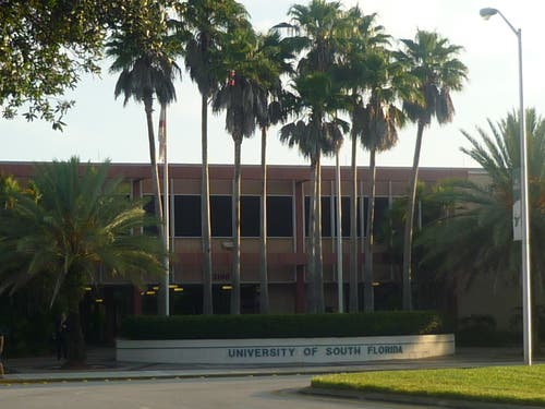 El campus de la Universidad de South Florida
