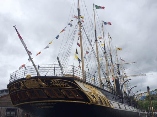 Transatlántico Brunel's ss Great Britain