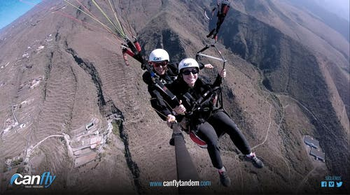 Canfly tandem Tenerife
