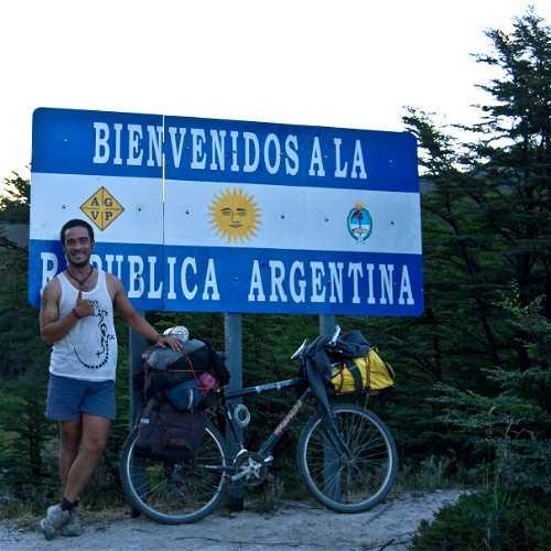 Sendero de Chile hasta Argentina